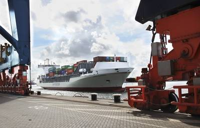 Unifeeder buque Vera Rambow en Rotterdam. Foto: Unifeeder Unifeeder buque Vera Rambow en Rotterdam. Foto: Unifeeder