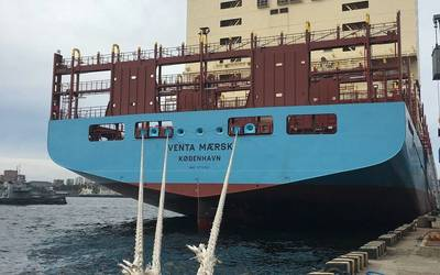 Venta Maersk。写真:The Maersk Group