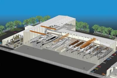 A Vigor seleciona o local de Vancouver, em Washington, para uma instalação de fabricação totalmente em alumínio. Renderização cortesia VIGOR