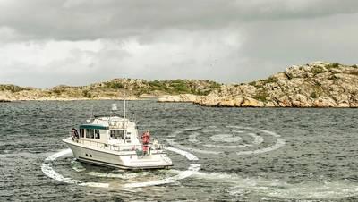 Volvo PentaのDPSには、不安定な海域での位置を維持し、洗練された動きを提供する再配置機能が追加されました。写真:ボルボペンタ