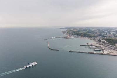 P&O Ferries: agregando dos súper ferries de nueva generación para operar en su servicio de Dover a Calais. (Foto © Adobe Stock / Sebastian)