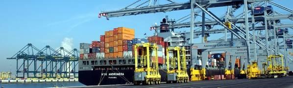 Φωτογραφία: Λιμάνι της Αμβέρσας