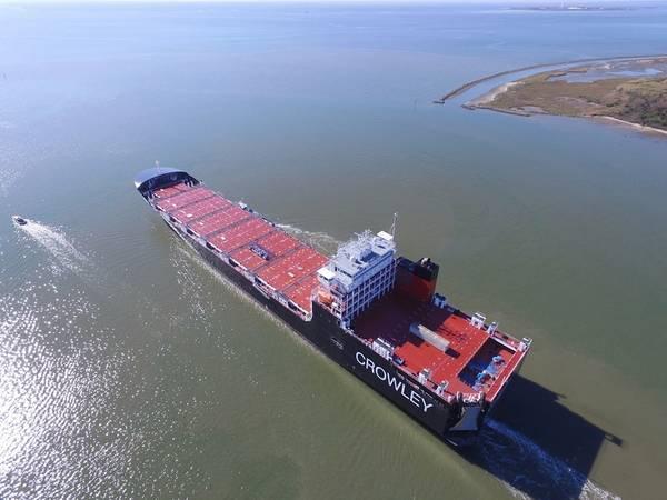 Фото любезно предоставлено Crowley Maritime