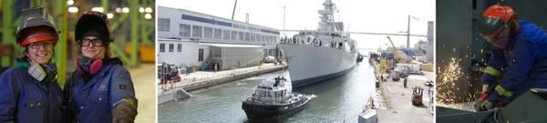 Фото: Irving Shipbuilding Inc.