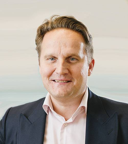 エバク・グループの社長兼CEOのTomi Gardemeister