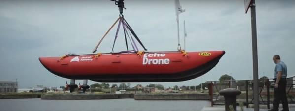 写真:アントワープ港のビデオ