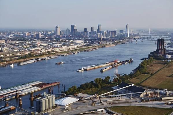图片:圣。路易斯地区货运站