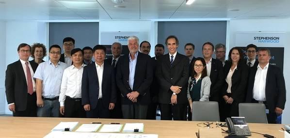 在INFINITY类的船上签署第三份SunStone船舶合同。照片:Ulstein Design&Solutions