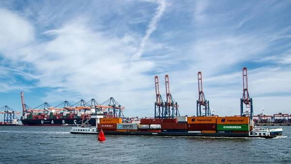 画像:ロッテルダム港