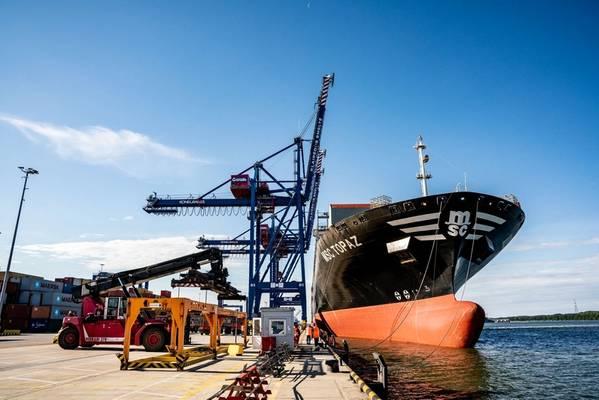 画像:Klaipeda State Seaport Authority