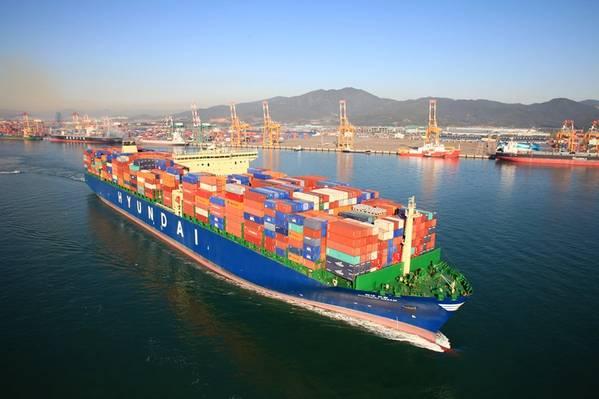 (文件照片:Hyundai Merchant Marine)