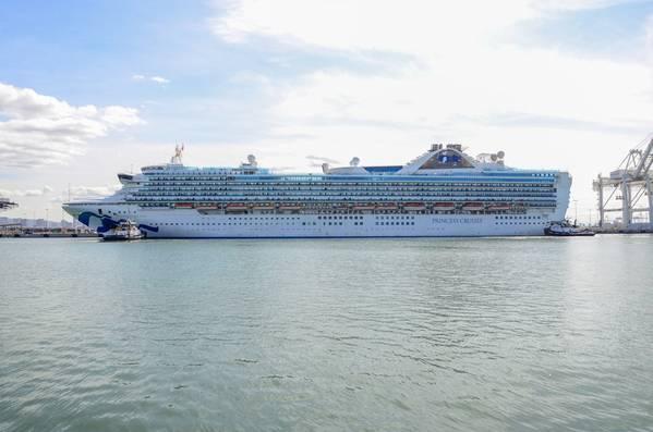 (الصورة: ميناء أوكلاند)