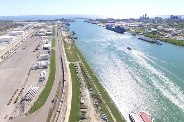 (Foto: Hafen von Corpus Christi)