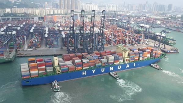 (Foto del archivo: Hyundai Merchant Marine)
