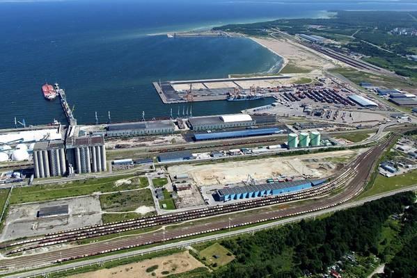 Bild: Hafen von Tallinn