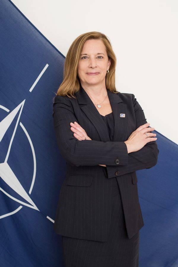 Δρ Catherine Warner, Διευθυντής του ΝΑΤΟ CMRE. Φωτογραφία: CMRE