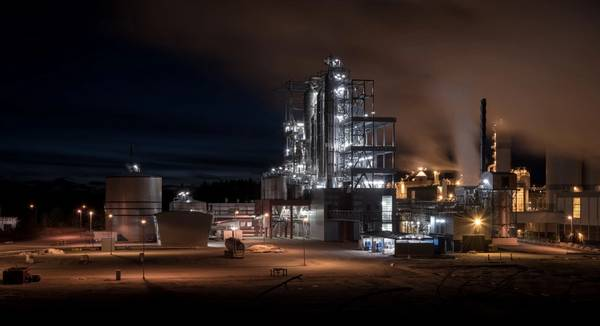 Fábrica Forchem em Rauma, Finlândia CREDIT: MAN