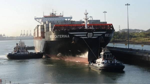 Foto: Panamakanal-Behörde