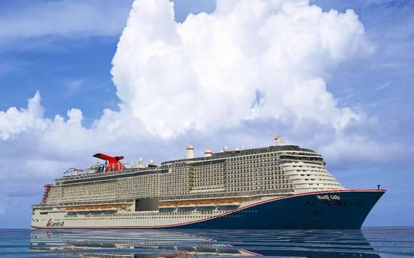 Foto cedida pela Carnival Cruise Line