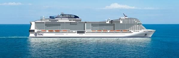 MSC Grandiosa. Φωτογραφία: MSC Cruises SA