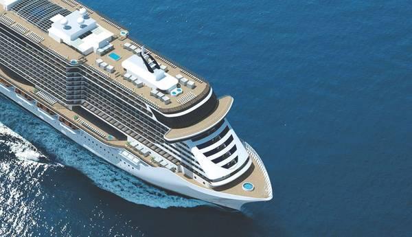 Η MSC Seaside, πρώτη από την κατηγορία MSC Seaside να ταξιδέψει από το PortMiami. (Πίστωση: MSC)