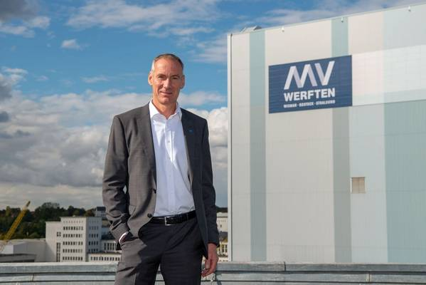 Raimon Strunck(53岁)被任命为MV WERFTEN的首席技术官(CTO)。照片:©MV WERFTEN
