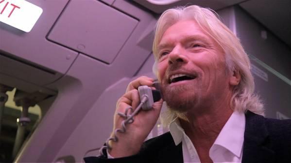 Richard Branson. De archivo: Virgen
