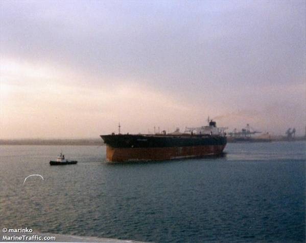 Tanker riah(文件图片:CREDIT MarineTraffic.com /©Marinko)