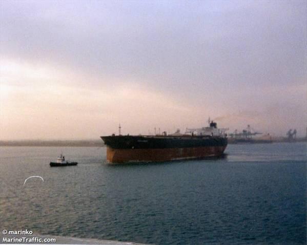 The Tanker riah (صورة الملف: CREDIT MarineTraffic.com / © Marinko)