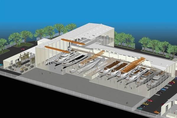 Vigor выбирает завод в Ванкувере, штат Вашингтон, для самого современного цеха по производству алюминия. Визуализация предоставлена VIGOR