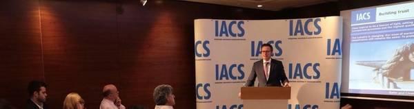 O compromisso da Knut Ørbeck-Nilssen com a qualidade, modernização e transparência reflectiu-se amplamente no trabalho do IACS e na visão de futuro. Foto: DNV GL
