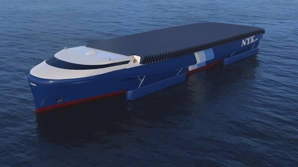 O conceitual NYK EcoShip (CREDIT: NYK)