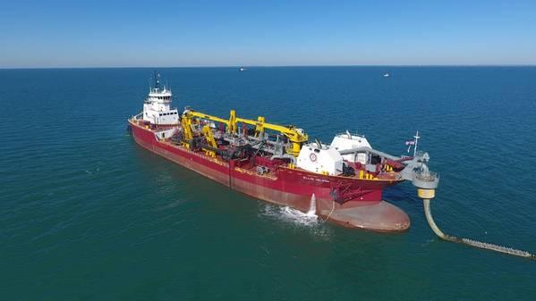 Осколочный корабль GLDD, остров Эллис (Фото: GlobeNewswire)