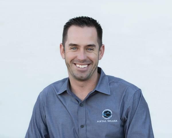 Chris Allard, Διευθύνων Σύμβουλος, Metal Shark. Φωτογραφία: Metal Shark