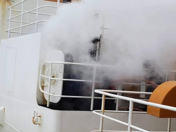 Imagem Cortesia da Guarda Costeira dos EUA