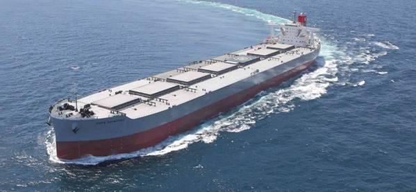 """Os navios graneleiros secos são a maioria (195 navios / 25,3 milhões de DWT) da frota da linha """"K"""". Foto: Linha """"K"""""""