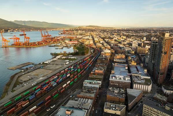 El puerto de Vancouver / CRÉDITO: AdobeStock / © Anne
