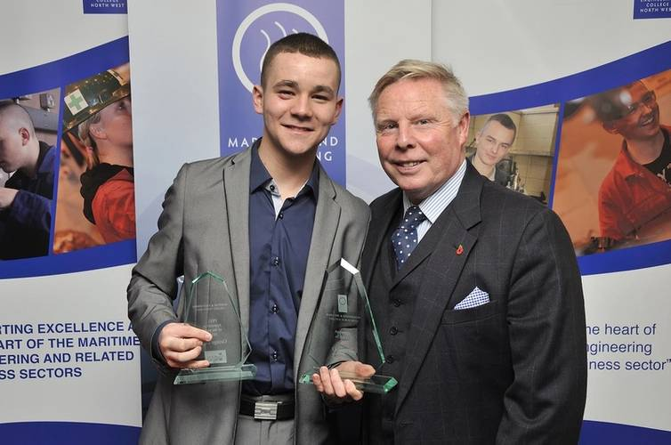 George Day, from Peel Ports, was named overall Apprentice of the Year and also Peel Apprentice of the Year, alongside Sammy Lee