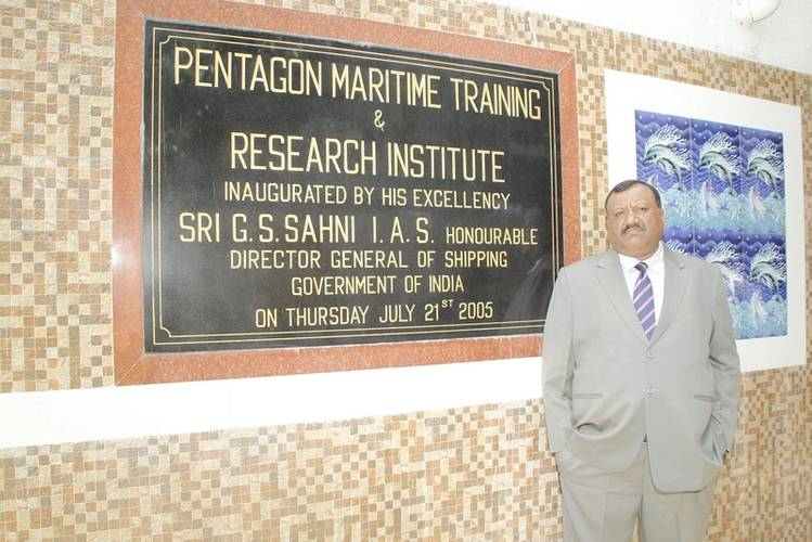 Pentagon Marine Services Capt. Nalin Pandey (Photo: Pentagon Marine Services)