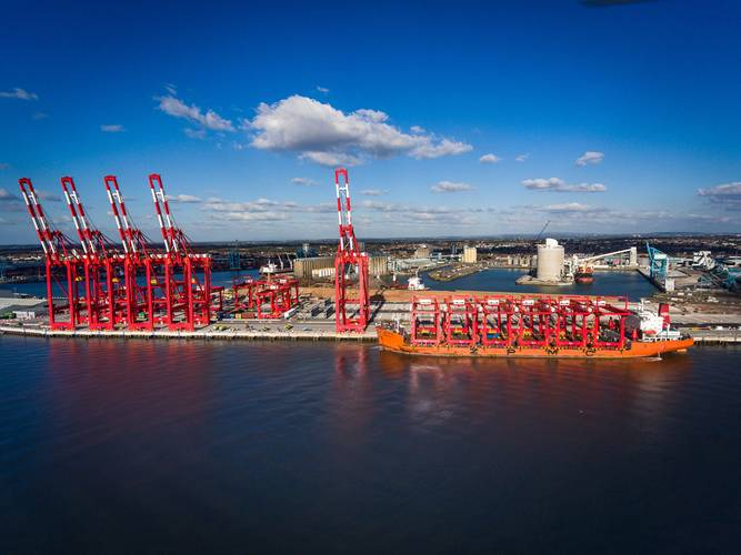 Photos courtesy of Peel Ports