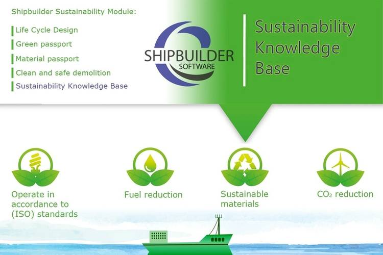 Shipbuilder  Sustainability Module Sustainability Knowlegde Base Photo Shipbuilder software