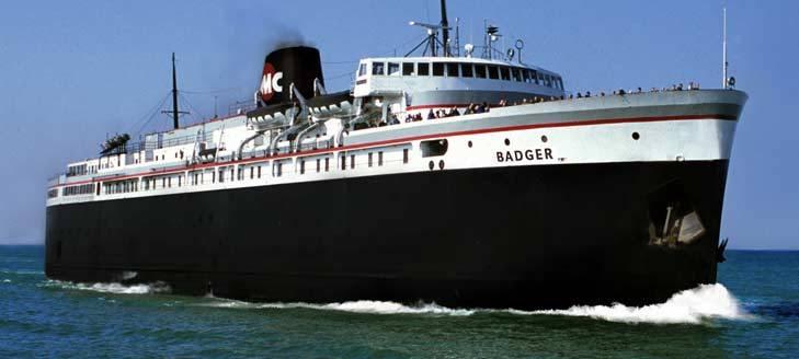 1953 with its sister-ship  E Badger Sister Ship