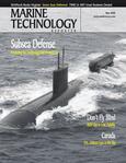 Marine Technology Magazine Cover May 2008 - Undersea Defense Edition