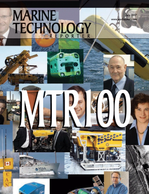 Marine Technology Magazine Cover Jul 2007 - The MTR 100