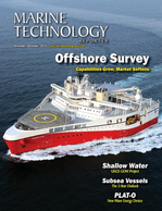Marine Technology Magazine Cover Nov 2014 - Fresh Water Monitoring & Senors