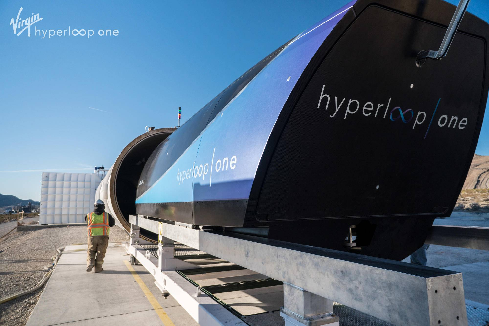 Branson, DP World Announce Hyperloop Joint Venture
