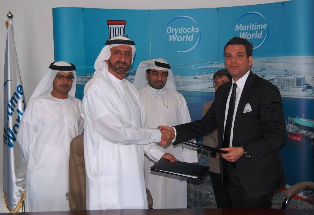 Dubai Maritime City Land Development