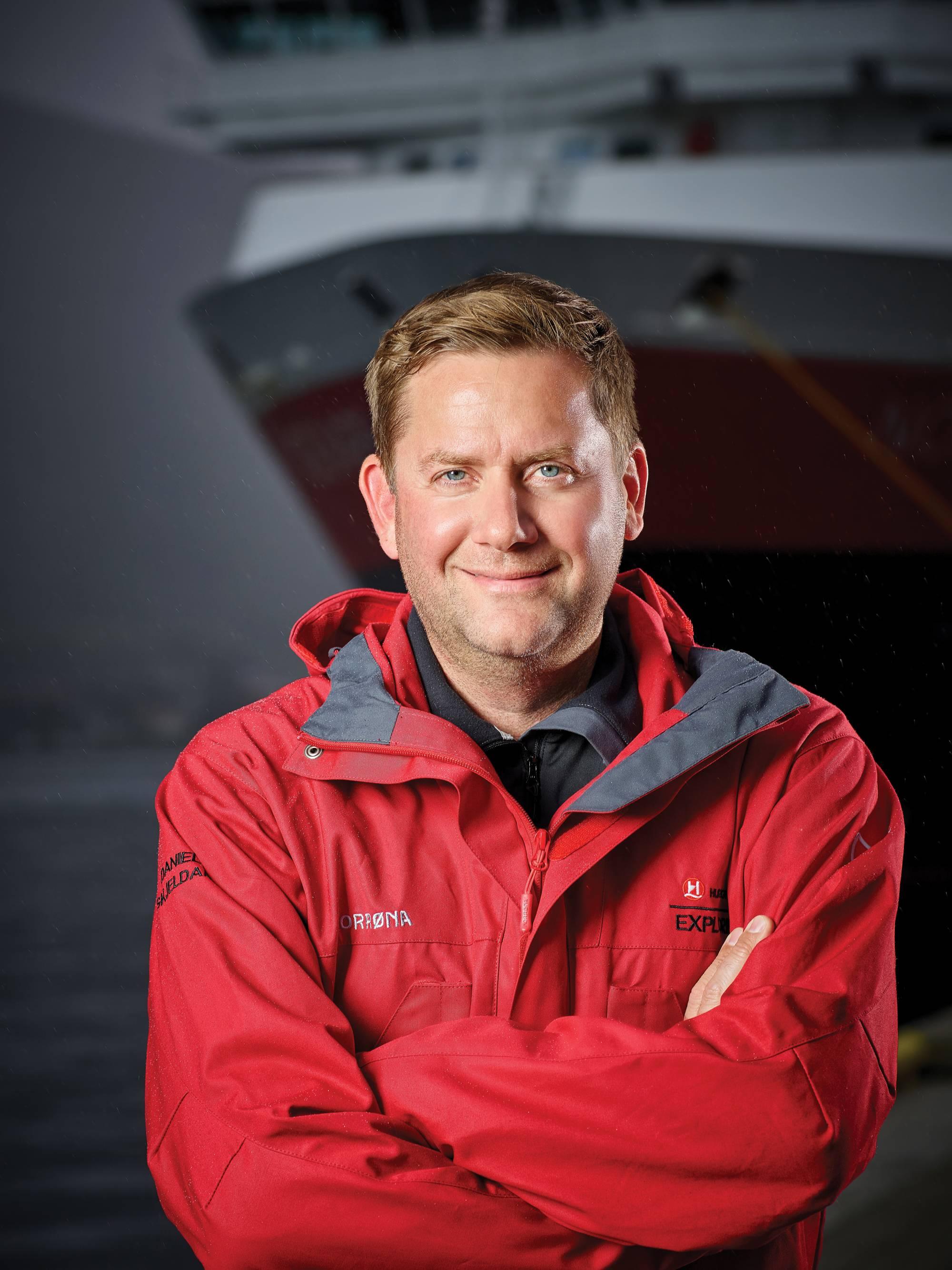 Cruise Ship Engine Control Room: Interview: Dan Skjeldam, CEO, Hurtigruten