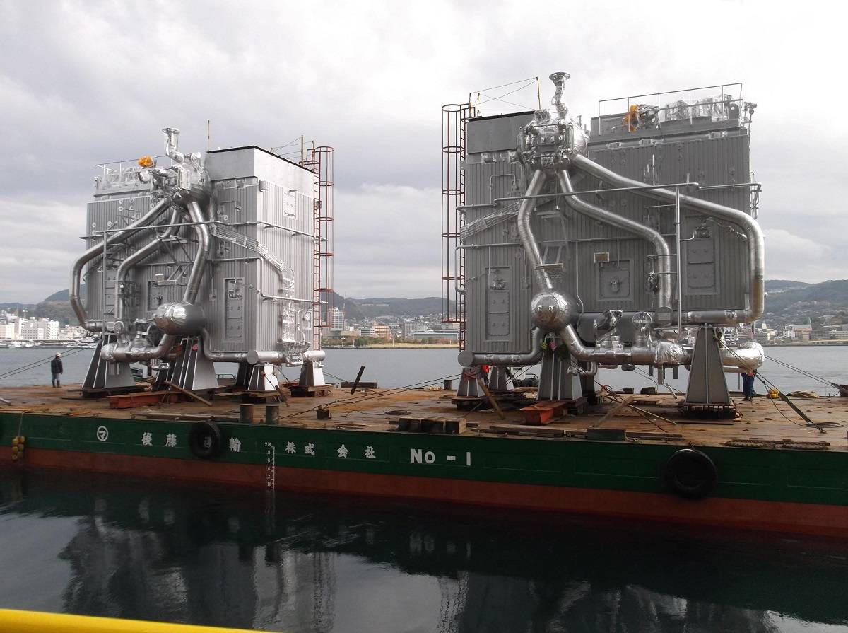 Hhi Orders Mhi Mme Ultra Steam Turbine Plants For Lng Carriers