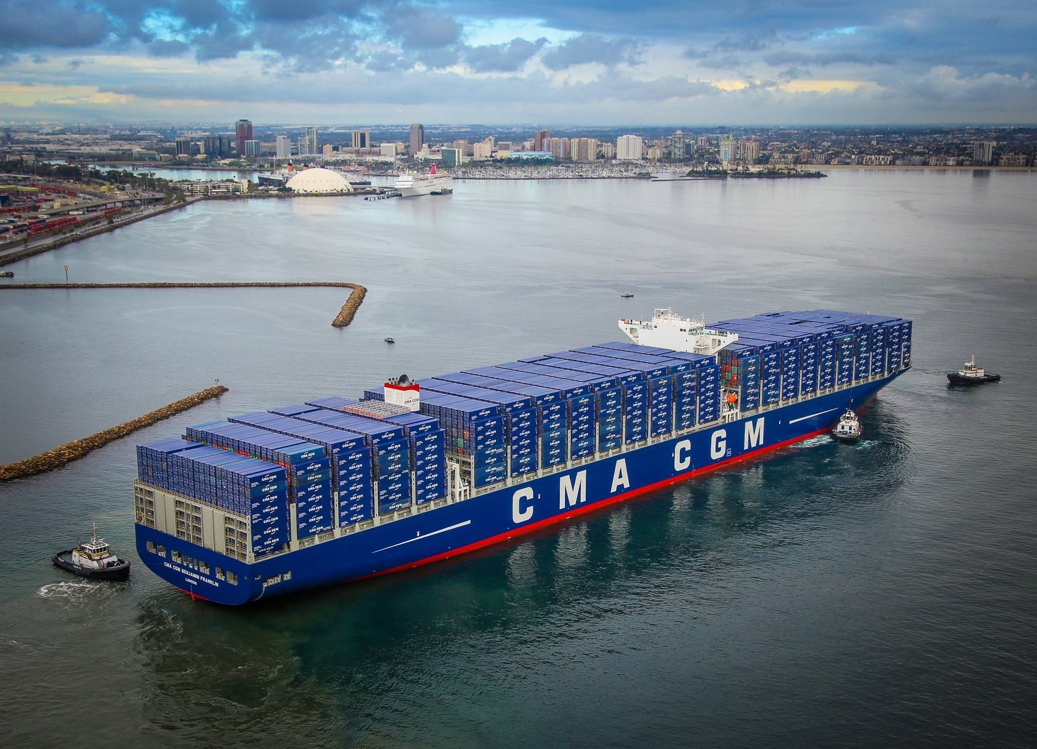 CMA CGM sees further profit rise in H2 on improving shipping sector